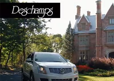 Deschamps Publicité télé Cadillac 2016
