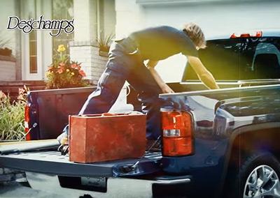 Deschamps – Publicité télé Camion