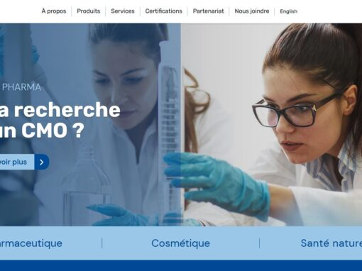 Delta Pharma – Site WordPress
