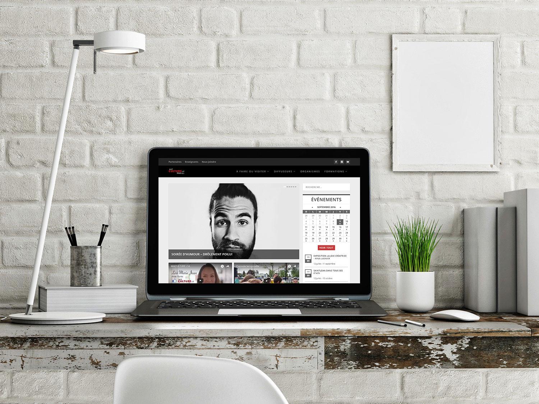 Aperçu du site web de l'EPSH