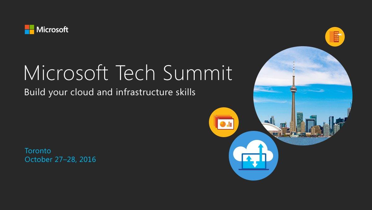 TechSummit 2016 – Microsoft donne un aperçu du futur.