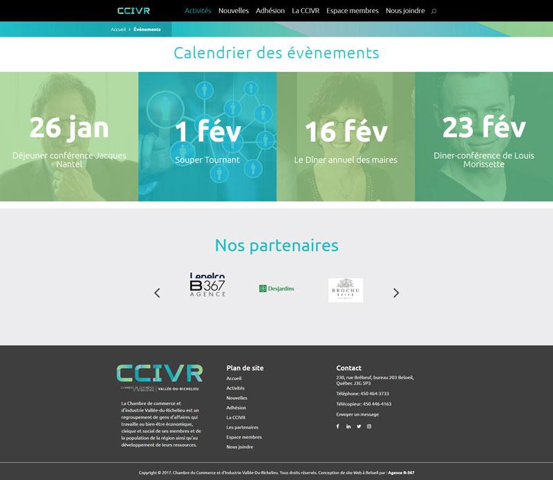 La CCIVR - Activités
