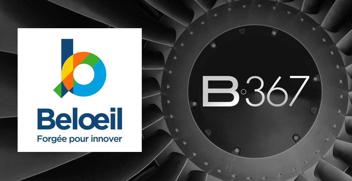 B-367 conçoit la nouvelle image de marque de la Ville de Beloeil