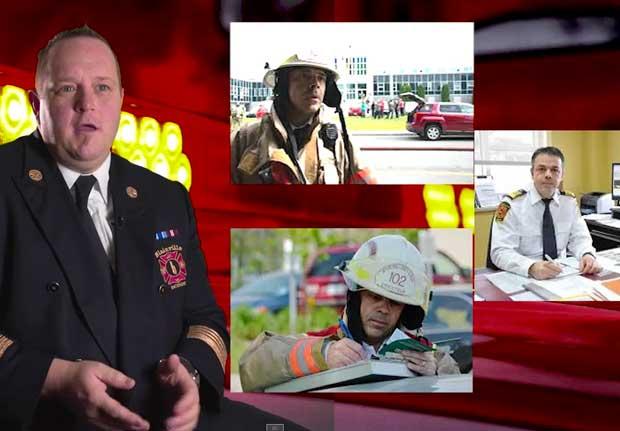 L'ACSIQ met à l'honneur le métier de chefs pompiers, en vidéo