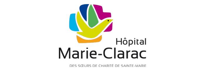 Conception du site Web de l'Hôpital Marie-Clarac