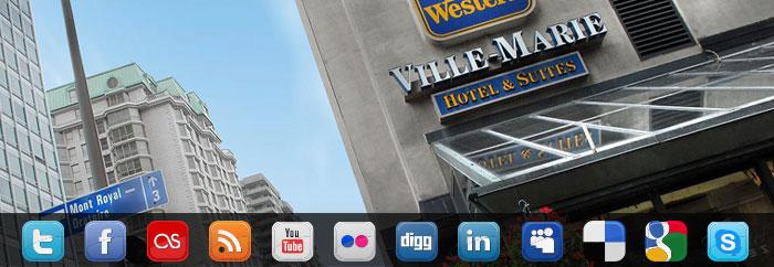 Formation réseaux sociaux au Best Western Ville-Marie de Montréal