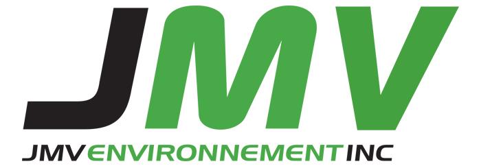 Conception du site Web de JMV Environnement inc.