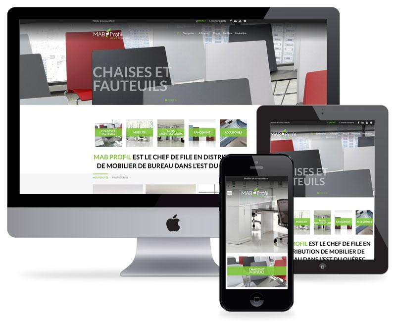 Nouveau site web de MAB Profil