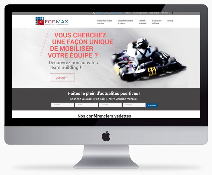Nouveau site internet de Formax